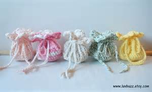 Crochet Wedding Favors Ideas by Wedding Favor Bags Crochet Set Of 20 Or More By Luvbuzz