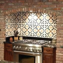 Spanish Tile Kitchen Backsplash Spanish Tile Backsplash Best Choice For Creating Mexican