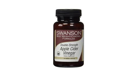 Apple Cider Vinegar Opiate Detox by Swanson Apple Cider Vinegar Pills A High Potency Product