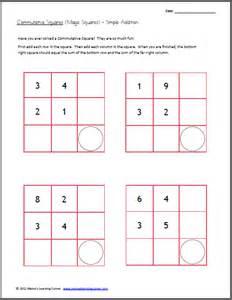 magic square worksheet abitlikethis