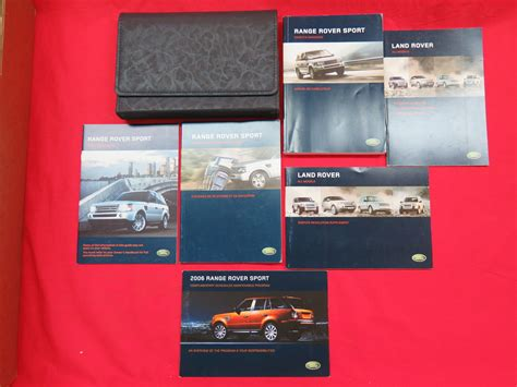 2006 Range Rover Sport Owners Manual Guide Book Ebay