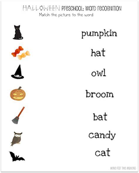 free printable preschool worksheets halloween halloween week halloween preschool printables mine for