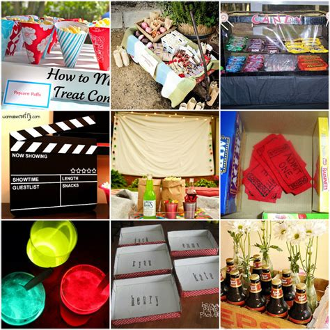 diy backyard party ideas 25 diy ideas for an outdoor movie night