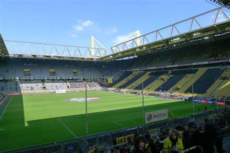 signal iduna park away section signal iduna park yallabook