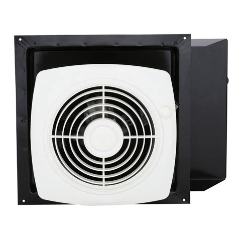 bathroom exhaust fan switch broan 180 cfm through the wall exhaust fan with on