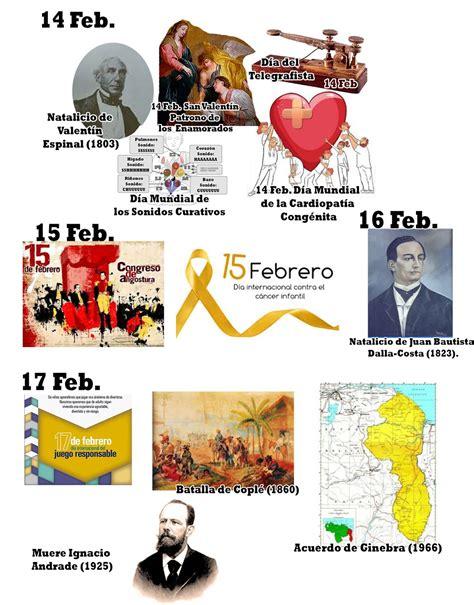 imagenes educativas efemerides febrero imagenes efemerides de febrero efem 233 rides del mes de
