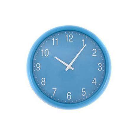 blue quartz wall clock unique home living