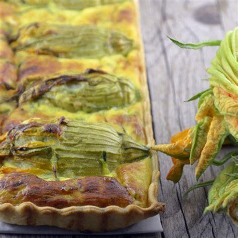 ricette con fiori di zucca e zucchine quiche con fiori di zucca e zucchine torta salata nutriente