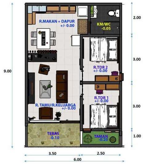 gambar desain nomer star 15 contoh denah rumah minimalis modern nyaman dan