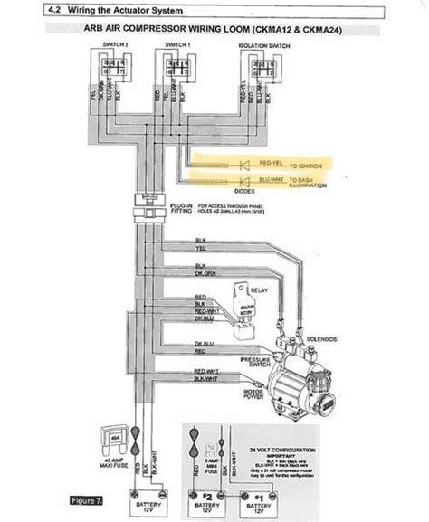 arb air compressor wiring diagram air free printable