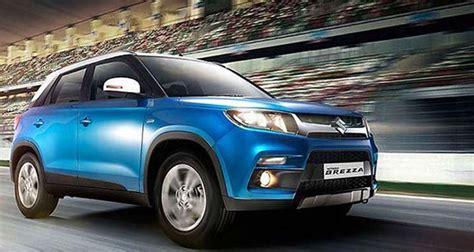 Suzuki Vitara Mpg Maruti Suzuki Vitara Brezza Price In India Specs