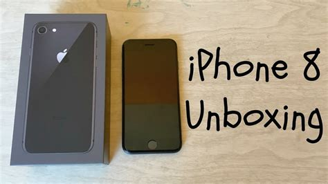 Iphone 8 256gb Bnib iphone 8 256gb space gray unboxing