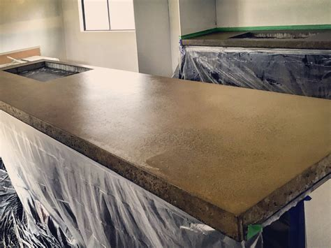 Polyurethane On Concrete Countertop by Img 4115 The Polished Concrete Company