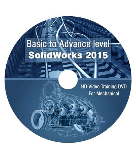 solidworks tutorial dvd solidworks 2015 basic to advance level dvd hd video