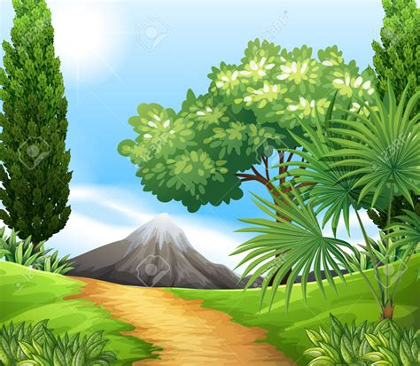 nature clipart scenery clipart clipground