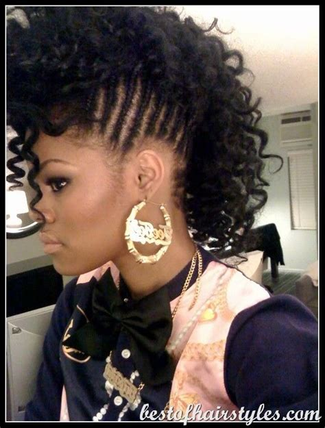 rodded hairstyles for black women braided mohawk with rod set hair flair pinterest