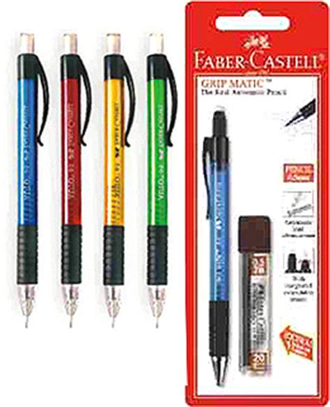 Pensil Mekanik Faber Castell Grip Matic 0 5 Mm Free Isi Pensil Lead mechanical pencils india driverlayer search engine