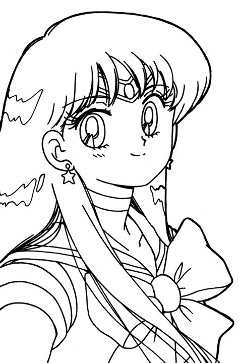 Tsuki Matsuri The Sailormoon Coloring Book Archive Sailor Mars Coloring Pages