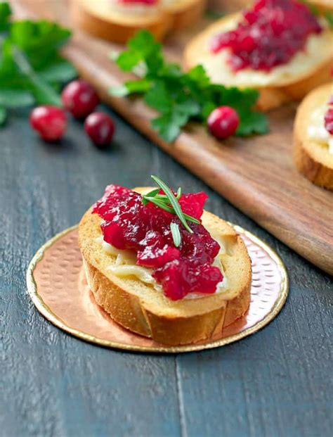 appetizers brie easy cranberry brie appetizers the seasoned