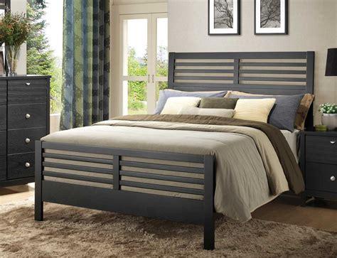 pier bedroom sets coaster richmond pier bedroom set black 202721 pier bed