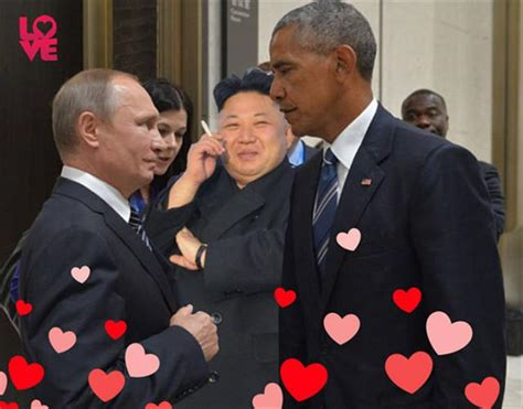 Obama Putin Meme - the obama putin stare gets the internet treatment and it