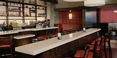 Modern Bar Top modern bar countertops at town restaurant dupont usa