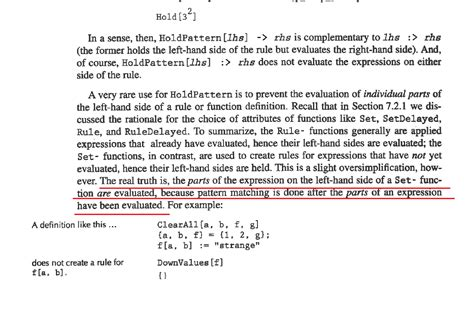 pattern matching mathematica pattern matching can t understand one paragraph in power