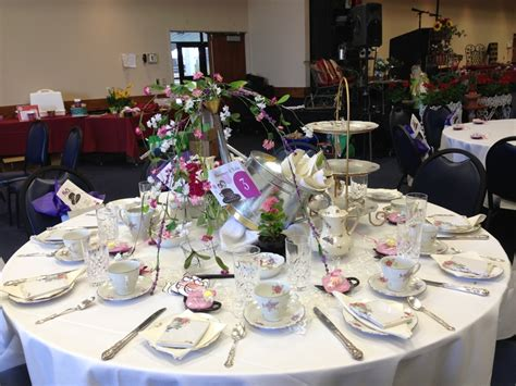 images about tea parties on pinterest table decorations decorated for a ladies tea party for charity quot club christ