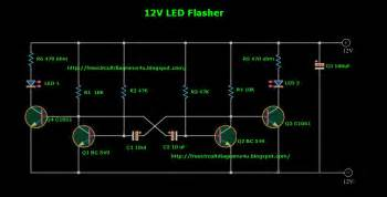 12v led flasher circuit diagram 12v get free image about wiring diagram