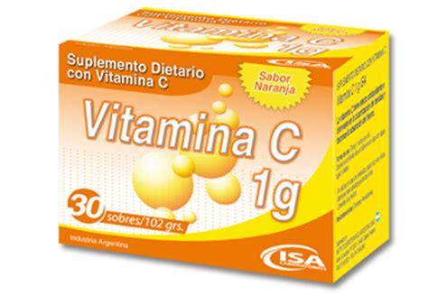 vitamina c 1 gr sobres x 30 droguer 237 a del sol