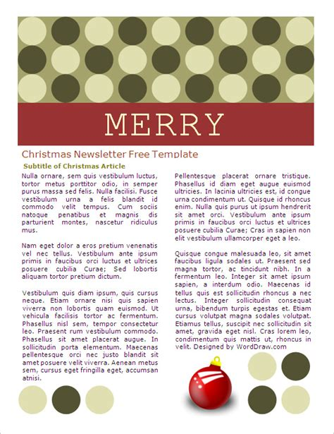 microsoft templates for word holiday 29 microsoft newsletter templates free word publisher