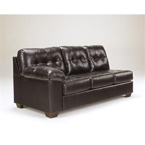 ashley 2 piece sectional sofa ashley furniture alliston 2 piece leather sectional sofa