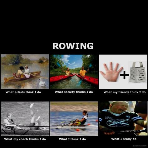 rowing boat puns rowing meme humour sports humour pinterest
