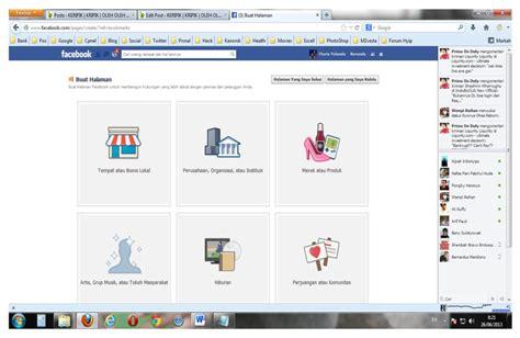 cara membuat facebook jadi halaman membuat halaman facebook keripik kripik oleh oleh