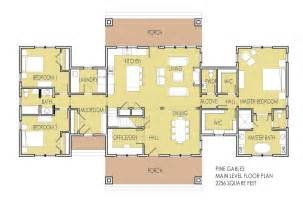 master suite house plans one level house plans with two master suites arts with