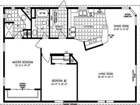 floor plans 1200 sq ft 1200 square foot house plans 2 bedroom 1200 square foot