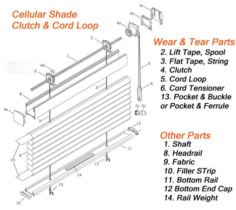 l shade parts diagram 28 images blinds parts 2017
