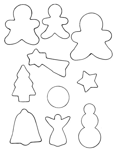 Diy Cookie Cutter Christmas Tags Project Cookie Cutter Templates