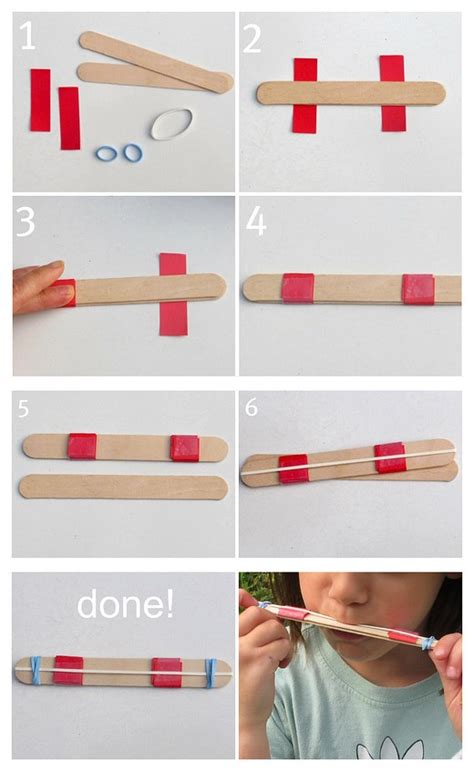 Step By Step On How To Make A Paper Airplane - how to make diy harmonica step by step tutorial