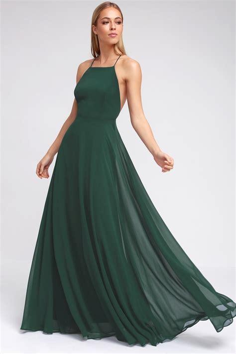 Dress Green Black beautiful green dress maxi dress backless maxi dress