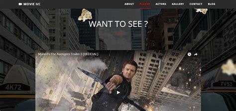bootstrap templates for movies 6 bootstrap movie cinema templates designerslib com