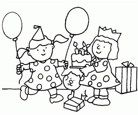 birthday coloring pages for toddlers coloring pages birthday coloring home