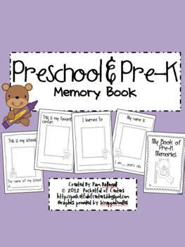 17 Best Images About Prek Memory Books On Pinterest Preschool Graduation Kid And Memories Preschool Memory Book Template