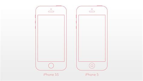 Iphone 5s Template best iphone se and iphone 5s 5c mockup