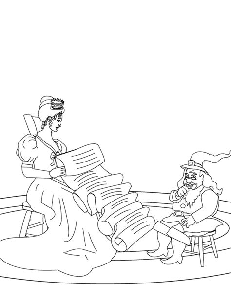coloring pages the queen cannot guess rumpelstiltskin s name