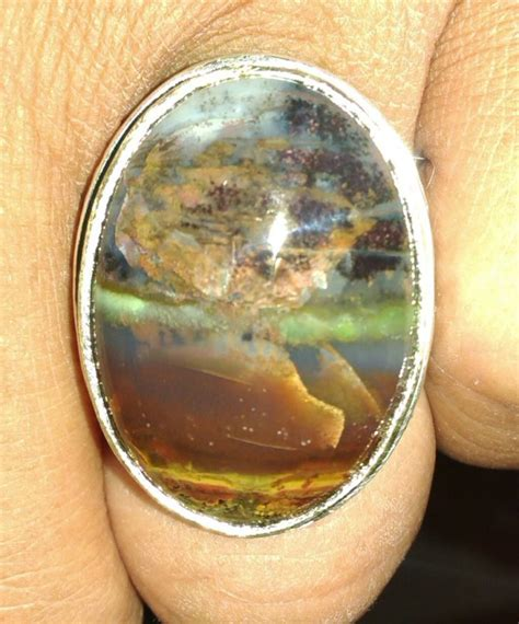 Cincin Batu Akik Panca Warna inilah keindahan dan khasiat batu akik borneo panca warna