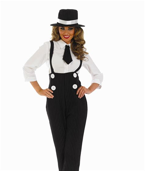 gangster costume for 20s 30s mob fancy dress