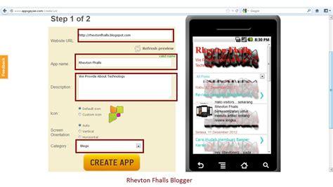 membuat blog gratis android cara mudah membuat aplikasi android sendiri gratis andre