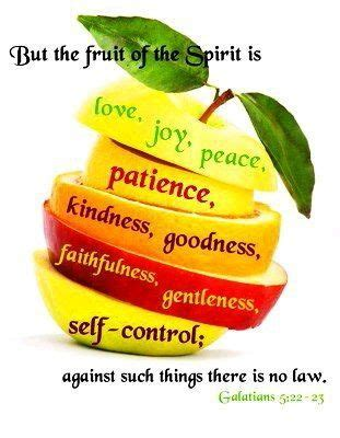 7 fruits of repentance 1817 best images about food for the soul on