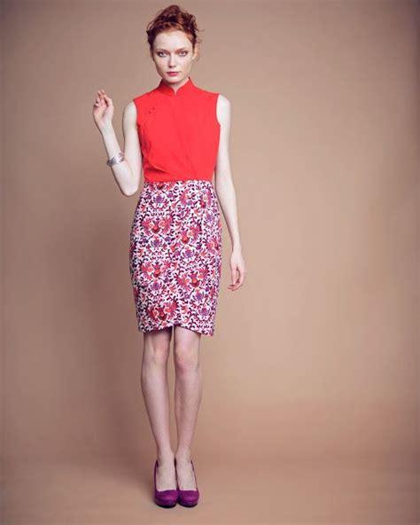 Dress Batik Levina cheongsam qipao chinesedress my style